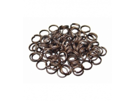 043FCH / FORNITURA ANILLA ESPIRAL COLOR COBRE 7mm -1ud-