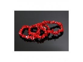 PULSERA CHIP  EXTRA  CORAL -5ud-