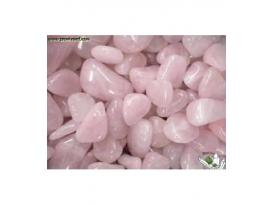 Rodado cuarzo rosa de 20 a 35mm (250gr)