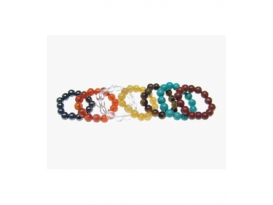 """ANILLOS TIBETANOS 7 MINERALES """"A"""" BOLA 4-5MM -15ud-"""