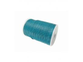 Cuero azul encerado 2mm rollo (100mts)