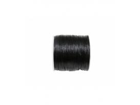 Rollo cordón cola ratón seda negra (100mts)