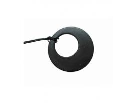 Colgante disco agujereado shungita(1ud)