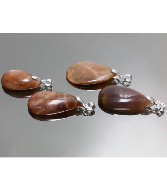 Colgante formas piedra sol (2ud)