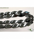 HILO HEMATITE TWIST 8X16MM/0008HH