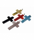 Colgante cruz variada (5ud)