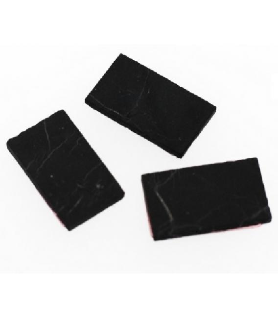 Escudos movil rectangular shungita (2ud)
