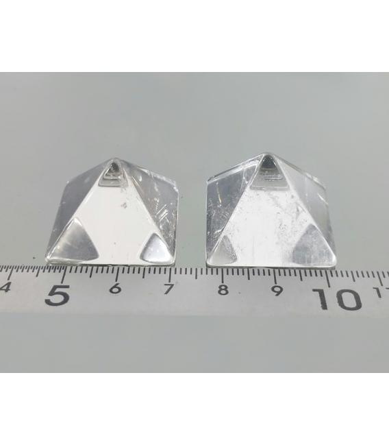 PIRAMIDE CUARZO EXTRA 15 - 25 MM (5ud)