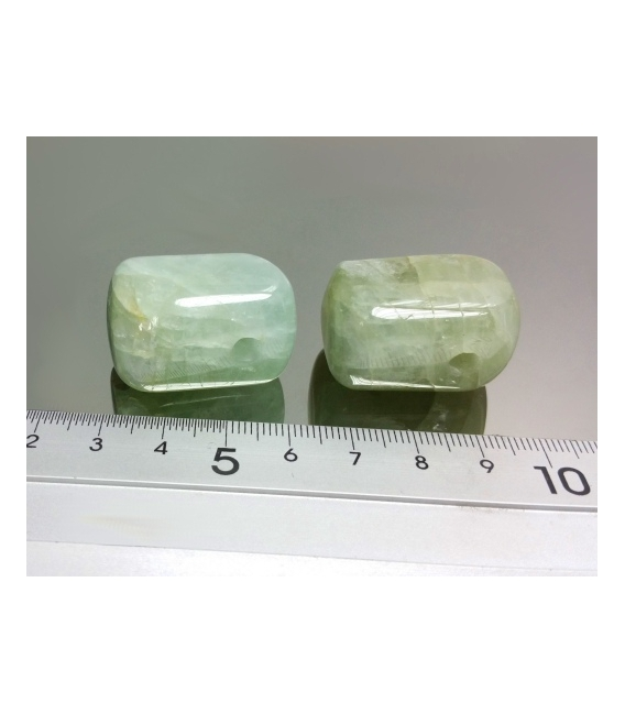 Colgante hielo aguamarina(3ud)