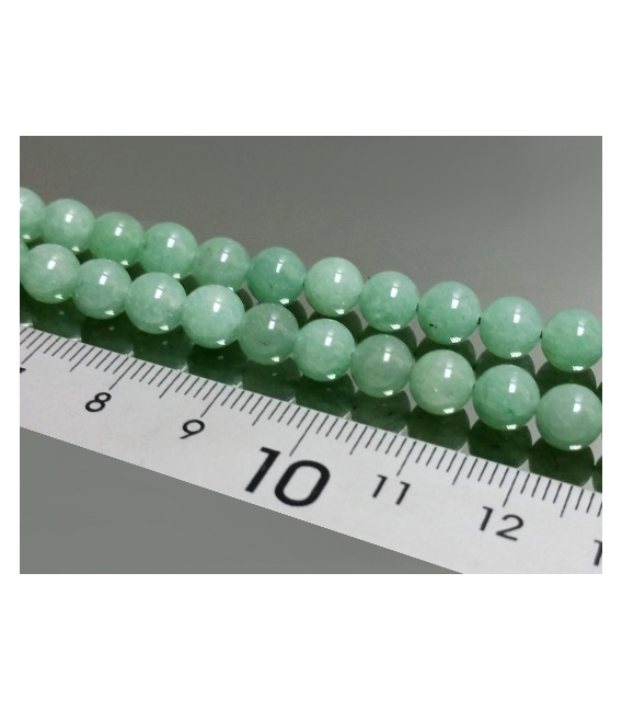 Mala bola cuarzo verde 6mm
