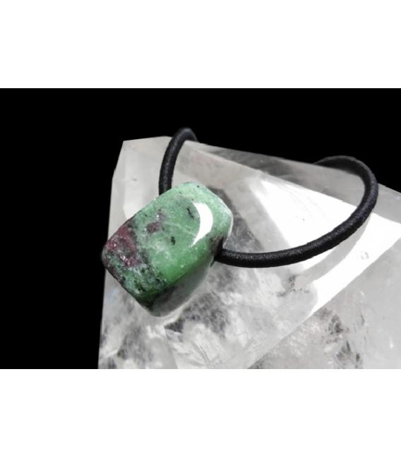 Colgante hielo rubi zoisita(3ud)