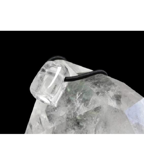 Colgante hielo cuarzo(3ud)