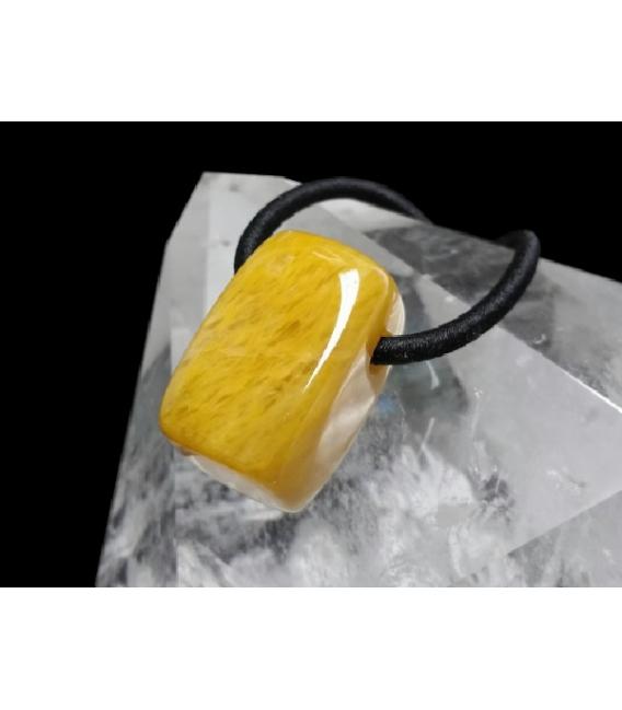 Colgante hielo aventurina amarilla(5ud)