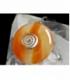 COLGANTE DONUT CARNEOLA 50mm (1ud)