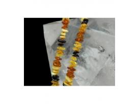 Lote collar infantul ambar multicolor (10ud)
