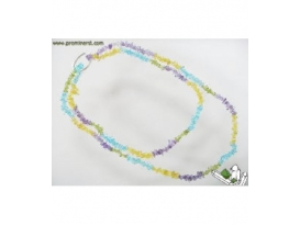 COLLAR CHIP LARGO 4 COLORES (10ud)