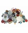 Lote cuentas minerales variados oferta (2ud)