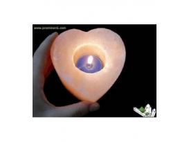 Lote portavela sal corazón (16ud)