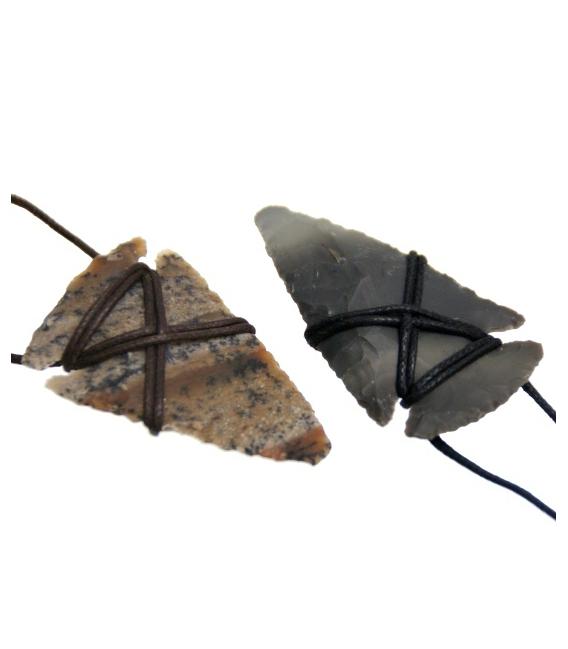 Colgande flecha silex(5ud)