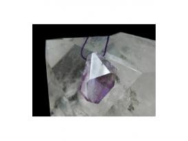 Colgante agujereado irregular amatista(5ud)