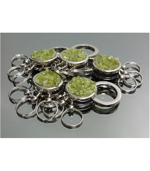 Llavero chip olivino(2ud)