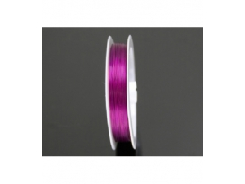 CABLE DE ACERO FUCSIA -100ML-