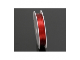 CABLE DE ACERO ROJO-100ML-