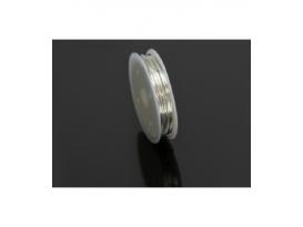 Rollo alambre de aluminio plata (2ml)