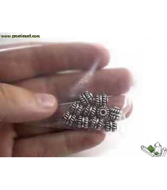 FORNITURA PLATA OVILLOS 8x7 (10UD)