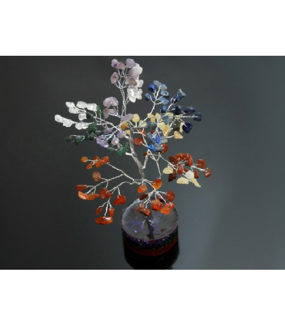 ARBOL ORGONITE 7 CHACRAS MEDIANO LOTE (10ud)