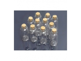 BOTELLAS MEDIANAS CRISTAL -10botellas/1bolsa-