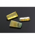 GEMA RECTANGULARES 25x20mm FLUORITA AMARILLA EXTRA -1ud-