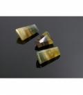 GEMA RECTANGULARES 40x20mm FLUORITA AMARILLA EXTRA -1ud-
