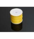 Cordón algodón encerado amarillo 1mm (35ml)