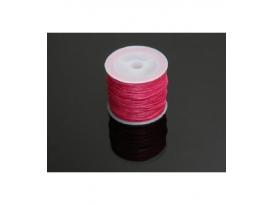 Cordón algodón encerado fucsia 1mm(35ml)