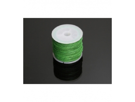 Cordon algodon encerado verde 1mm((35ml)