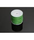 Cordon algodon encerado verde 1mm((35ml)