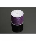 Cordn algodón encerado algodón 1mm violeta (35mm)