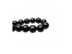 COLLAR AZABACHE  EXTRA BOLA 24mm -1ud-