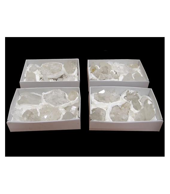 Caja drusa de cuarzo oferta