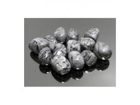 Rodado ágata locura gris de 20 a 30mm (250gr)