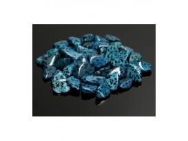 Rodado jaspe dálmata azul de30 a 50mm (250gr)