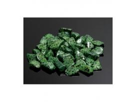 Rodado jaspe dálmata verde de 25 a 40mm (250gr)