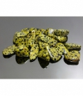 Rodado jaspe dalmata amarillo de 30 a 40 mm (250gr)