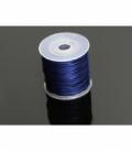 rollo cordón cola raton seda azul electrico (100mts)