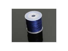 Rollo cordón cola raton azul electrico (40m)