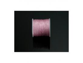 Rollo hilo macramé rosa 50 metros