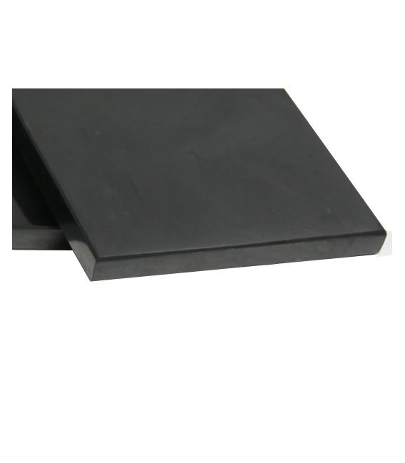 SHUNGITA PLACA RECARGA CUADRADA PULIDA 10x10cm (1ud)