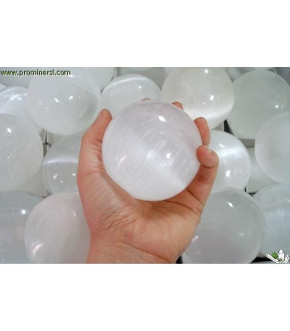 Esfera de selenita 7 cm