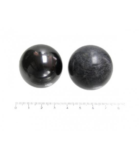 SHUNGITA ESFERAS DOBLES TULIKIVI 40mm (1ud)